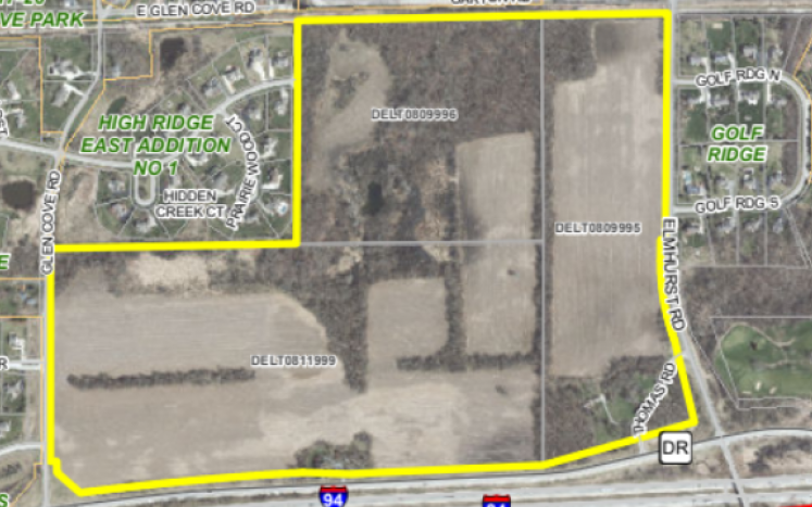 Picture of Thomas property use plan
